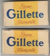 Lames De Rasoir GILLETTE. Paquet De 9 Lames. - Lames De Rasoir