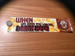AUTOCOLLANT, Sticker «DRINK HEFE - MOAB UTAH - HEFEWEIZEN - ELEPHANT HILL» (ALE, BIERE USA) - Pegatinas