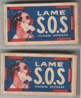 Lames De Rasoir S.O.S. Paquet Avec 3 Lames. - Razor Blades