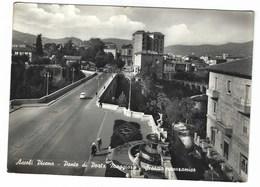 6759 - ASCOLI PICENO PONTE DI PORTA MAGGIORE SCORCIO PANORAMICO ANIMATA 1961 - Ascoli Piceno