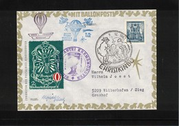 Austria / Oesterreich 1962 Christkindl Ballonpost - Ballonpost