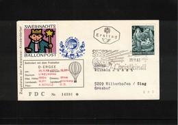Austria / Oesterreich 1963 Christkindl Ballonpost - Ballonpost