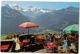 Hotel-Restaurant Harder-Kulm, 1326 M, Bei Interlaken, Eiger, Monch, Jungfrau, Unused Postcard [24044] - BE Berne