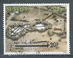 Sénégal YT N°780 L'ENDA Surchargé +20F Agir Sur L'environnement Oblitéré ° (Voir Description) - Senegal (1960-...)