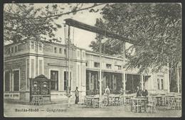 ROMANIA BUZIAS FURDO Restaurant Old Postcard (see Sales Conditions) 01989 - Romania