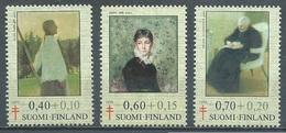 Finlande YT N°735/737 Tableaux De Femmes-artistes Neuf ** - Finlande