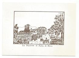 XW 2213 Latina - 3 Mostra Nazionale Filatelica - 40° Anniversario Fondazione - Stazione Di Posta Di Mesa - Illustrazione - Latina