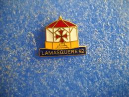 991   PINS Pin's  LAMASQUERE 1992   31 Village - Cities