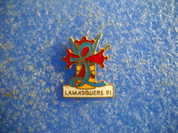 990   PINS Pin's  LAMASQUERE 1991   31 Village - Cities