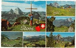 NATURFREUNDEHAUS STOOS 1130m, Switzerland, Used Postcard [24049] - SZ Schwyz
