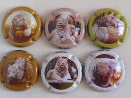 Série De 6 Capsules PICARD, Les Tigres - Other