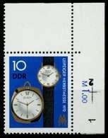 DDR 1970 Nr 1601 Postfrisch ECKE-ORE X94CF1E - Ungebraucht