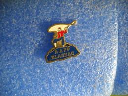 984   PINS  PECHE   Pin's  AAPP BLAGNAC 31 Pêcheur - Badges
