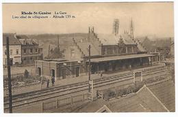 CPA Rhode-st-genèse, La Gare - St-Genesius-Rode