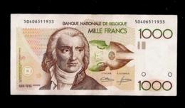 BELGIQUE 1000 FRANCS 1980 - 1000 Franchi