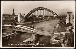 NEWCASTLE-UPON-TYNE 1951 : Tyne And Swing Bridges - Newcastle-upon-Tyne