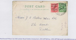 Ireland Galway 1922 Rubber Climax Dater DALYSTOWN LOUGHREA Co GALWAY 31 AUG.22 On Postcard KYLEBRACK LOUGHREA - Irlande