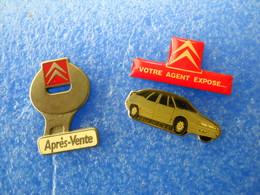 1000     PINS  CITROEN (3) XM , Après Vente - Citroën
