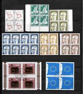 LOTE 2070 /// ALEMANIA FEDERAL  LOTES DE BLOQUES DE 4 ¡¡¡ OFERTA - LIQUIDATION - JE LIQUIDE !!! - [7] West-Duitsland