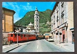 Madonna Di Tirano/ Il Trenino Del Bernina - Trains