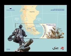 Portugal 2020 Mih. 4592 (Bl.457) Strait Of Magellan. Ships MNH ** - Ongebruikt