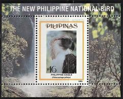 1995 Philippines National Bird: Philippine Eagle Souvenir Sheet (** / MNH / UMM) - Aigles & Rapaces Diurnes