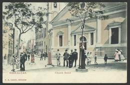 GIBRALTAR Church Street Old Postcard (see Sales Conditions) 01993 - Gibraltar