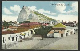 GIBRALTAR Church Rock From La Linea Old Postcard (see Sales Conditions) 01992 - Gibraltar