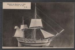 MUSÉE De MARINE N° 998 - Galiote à Bombes De 1815 - Warships