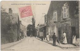 D45 - SAINT HILAIRE-SAINT MESMIN - LE BOURG L'ARCHER -Plusieurs Personnes-Boucherie/Charcuterie Couteau-Charrette-Chien - Other Municipalities
