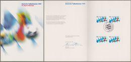 """Bund: Minister Card - Ministerkarte, Mi-Nr. 2074: """" FC Bayern München - Deutscher Fußballmeister 1999 """" !      X - [7] West-Duitsland"""
