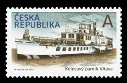 Czech Republic 2018 Mih. 971 Ship. Paddle Steamer Vltava MNH ** - Tschechische Republik