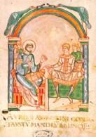 LE MONT SAINT MICHEL   Manuscrits Du Mont  -St Augustin En Discussion Avec Faustus   47 (scan Recto Verso)MH2967 - Le Mont Saint Michel
