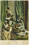 Lesotho - 1911 - Basuto Girls - Published By Spanos & Tsitsias, Lourenço Marques - Lesotho
