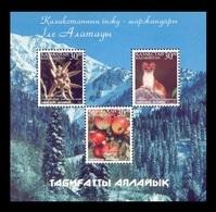 Kazakhstan 2002 Mih. 382/84 (Bl.24) Flora And Fauna Of Ile Alatau MNH ** - Kazakhstan