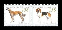 Kazakhstan 2005 Mih. 515/16 Fauna. Dogs (joint Issue Kazakhstan-Estonia) MNH ** - Kazakhstan