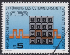 Specimen, Austria Sc1336 Digital Telephone Service Introduction - Telecom