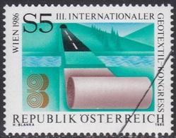 Specimen, Austria Sc1342 3rd International Geotextile Congress - Fabriken Und Industrien