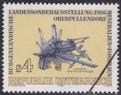 Specimen, Austria Sc1348 Burgenland Provincial Minerals Exhibition, Antimonite - Minerales