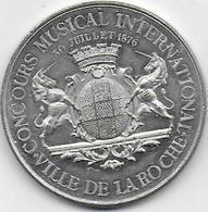 Ville De La ROCHE ( Sur Foron ) - Concours Musical International 30 Juillet 1876 - Francia