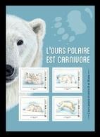 France (Collector) 2019 No. 335 Fauna. Polar Bears MNH ** - Neufs