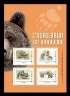 France (Collector) 2019 No. 337 Fauna. Brown Bears MNH ** - Neufs