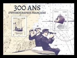 France 2020 Mih. 7608/09 (Bl.471) French Hydrography. Ships MNH ** - Neufs