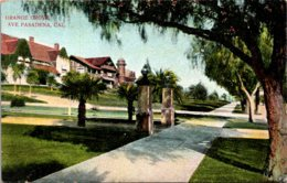 California Pasadena Orange Grove Avenue - United States