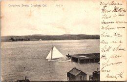 California Crockett Carquinez Straits 1907 Rotograph - United States