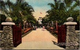 California San Diego Main Entrance To Mission Cliff Gardens 1915 Curteich - San Diego