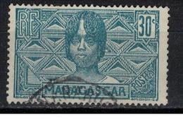 MADAGASCAR            N°  YVERT  169 ( 3 )       OBLITERE       ( OB  6/ 44 ) - Madagascar (1889-1960)