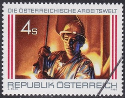 Specimen, Austria Sc1376 Industry, Steel Workers, Industrie - Fabriken Und Industrien