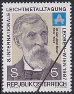 Specimen, Austria Sc1401 Chemist Dr. Karl Josef Bayer (1847-1904), Chimiste - Planten