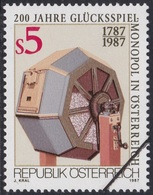 Specimen, Austria Sc1413 Lottery Drum, Gambling Monopoly 250th Anniversary - Fabriken Und Industrien